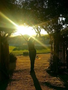 donna at sunstone winery santa ynez, ca