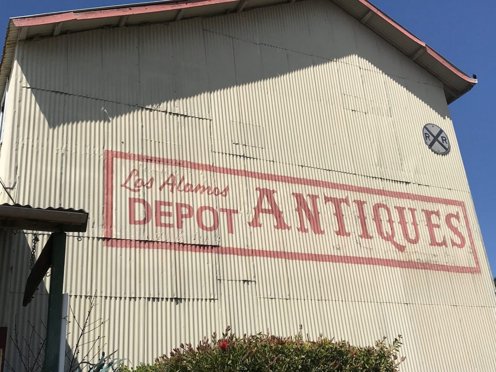 Los Alamos CA Antique Depot Mall
