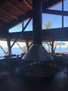 Nepenthe Restaurant Inside, Big Sur, CA