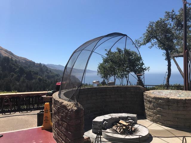 Nepenthe Restaurant View, Big Sur, CA