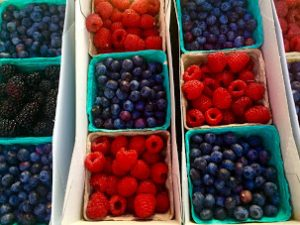 Monterey Peninsula College Farmers Market Berries