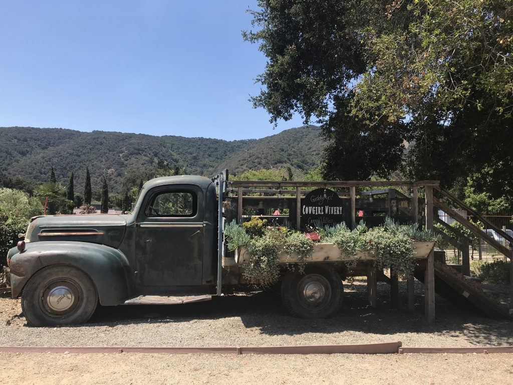 Cowgirl Winery Tractor